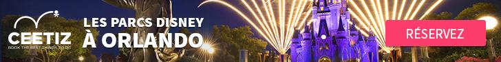 Ceetiz - Pass Walt Disney World Orlando – Accès aux 4 parcs durant 2 à 10 jours